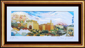 The tower of David special print