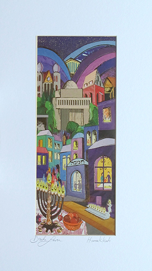 Chanukah special signed print