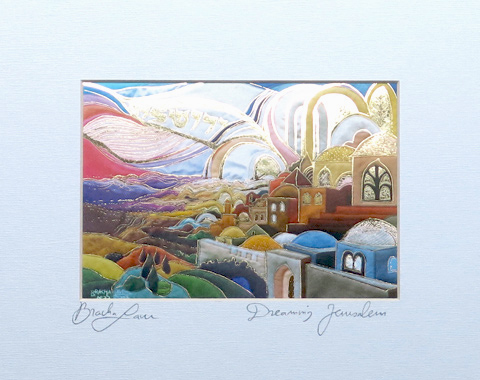 Dreaming Jerusalem signed print
