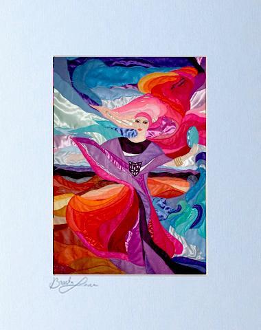 Miriam dance signed print