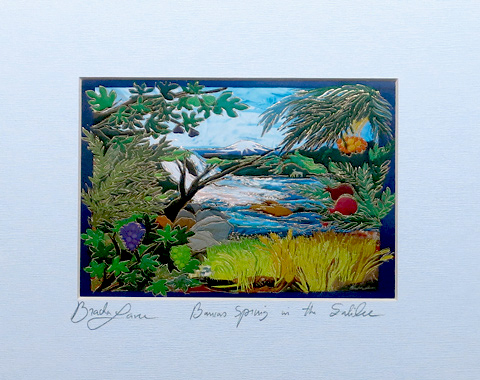 Spring in Galilee signed print