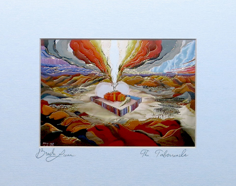 Tabernacle signed print