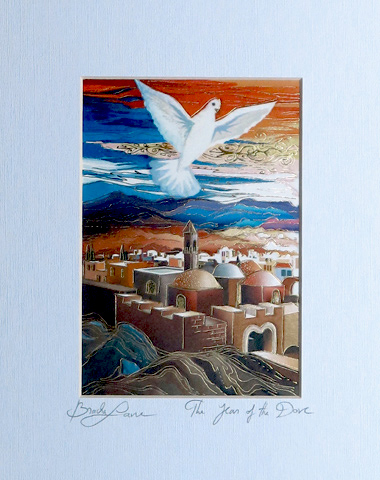The year of the dove signed print