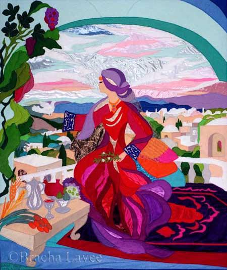 Bat Sheva original tapestry