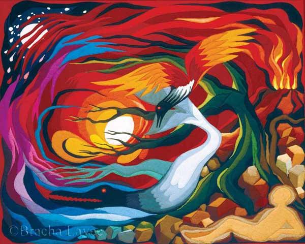 Creation original tapestry
