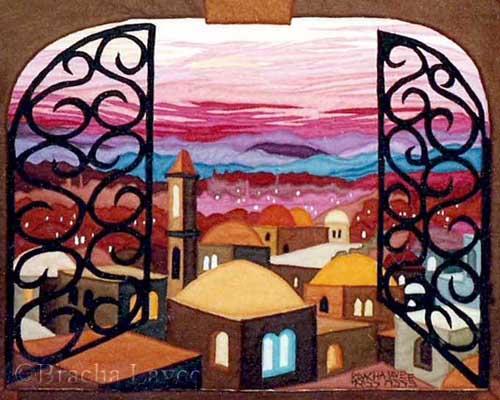 Jerusalem Window original tapestry