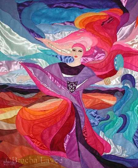 Miriam dance original tapestry