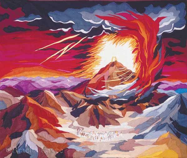 Mount Sinai original tapestry