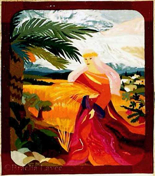 Ruth original tapestry