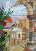 Arches of Jerusalem design