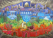 Jerusalem of light design