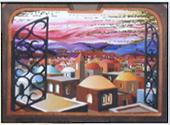 Jerusalem Window miniature