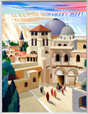 Old Jerusalem miniature