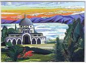 The church of Beatitudes miniature