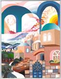 The gate to Jerusalem miniature