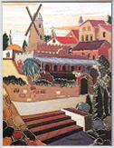 Yemin Moshe miniature