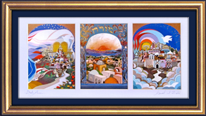 Holy land triptych