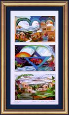 Israel triple special print