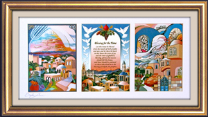 Peace triptych