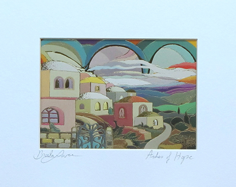 Arches of hope signed print