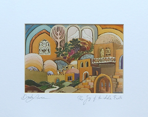 The joy of the whole earth signed print
