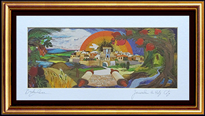Jerusalem the holy city special print