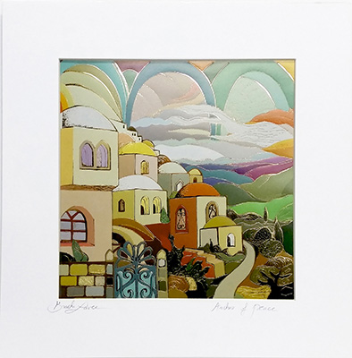 Arches of peace special signed print
