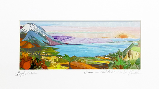 Sea of Galilee special signed print