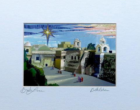 Beitlehem signed print