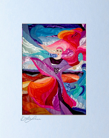 Miriam dance signed print