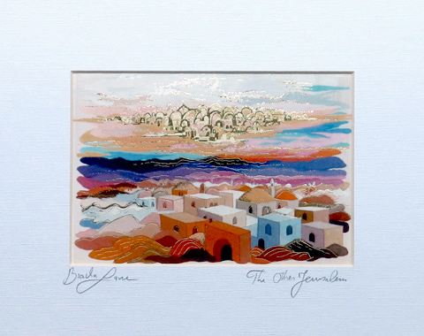 The other Jerusalem signed print