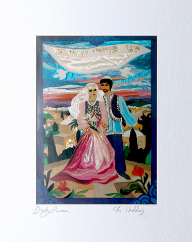 The wedding signed print