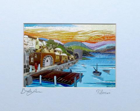 Tiberias signed print