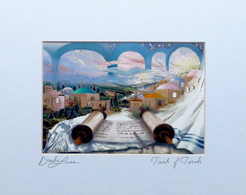 Touch of Torah signed print