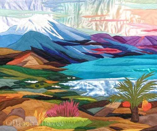 Chermon and Kinneret original tapestry