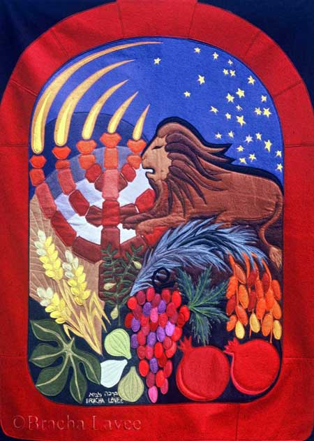 Judah original tapestry