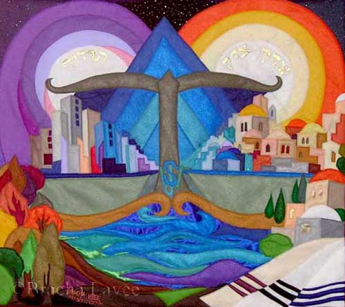 Justice everywhere original tapestry