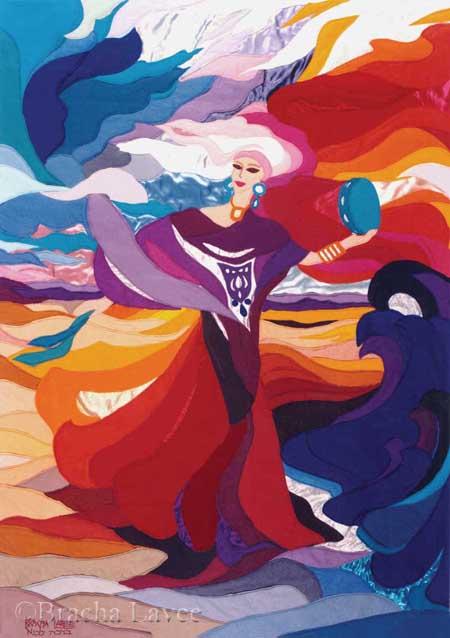 Miriam original tapestry