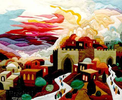 Reunite our people original tapestry
