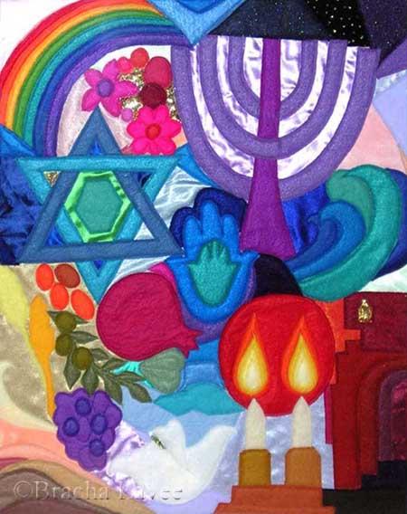 Symbols original tapestry