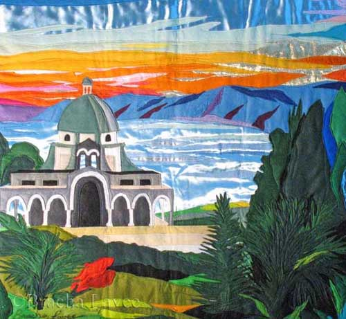 The church of Beatitudes original tapestry