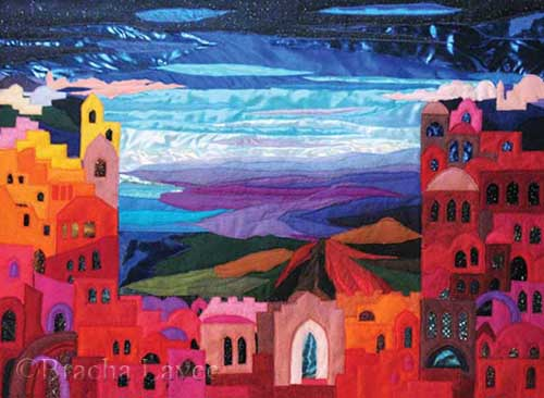 eternal Jerusalem original tapestry