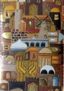 Jerusalem mosaic design