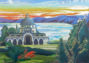 The church of Beatitudes design