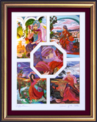 Biblical stories octagon special print